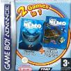 Finding Nemo + Finding Nemo the Continuing Adventures double pack GBA Game
