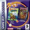 Scooby Doo Cyber Chase and Mystery Mayhem double pack GBA Game