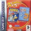 Sonic Advance and ChuChu Rocket double pack GBA Game