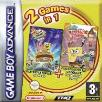 SpongeBob Movie and SpongeBob Freeze Frame Frenzy double pack GBA Game