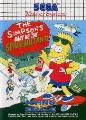 Simpsons Bart vs the Space Mutants Master System Game
