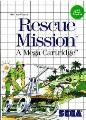 Rescue Mission Master System Game
