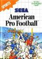 American Pro Football Master System Game